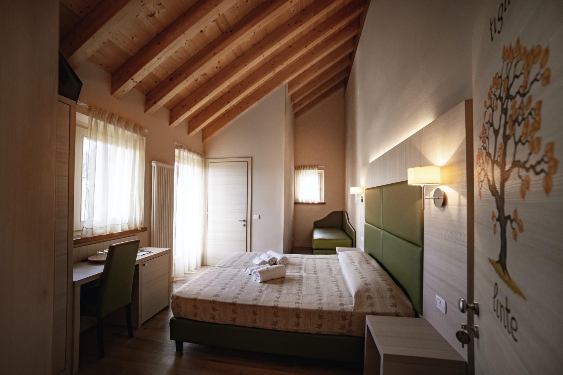 Die Zimmer von Malga Zebari